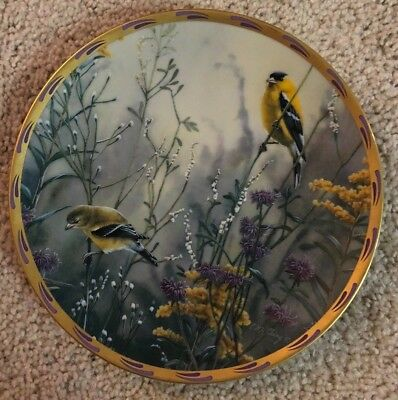 Lenox Limited Edition Fine Ivory China Nature's Collage Plate Collection, 1992