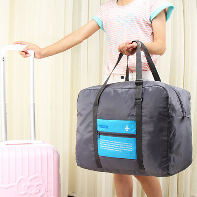 Big Size Travel Foldable Luggage Bag Clothes Storage Carry-On Duffle Pouch Bag