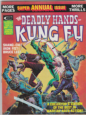 Deadly Hands of Kung Fu (Annual Edition)  # 15    1975       VF/NM