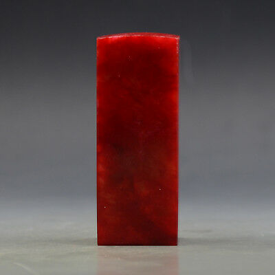 Exquisite natural bloodstone seal 10 a6034