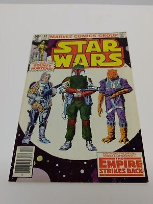 Star Wars #42 AND #44 1st Appearance Boba Fett 1980 Marvel Comics Ungraded lot 2