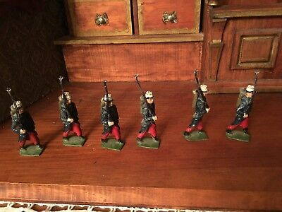 Vintage Miniature Toy Lead French Foreign Legion Soldiers Made in England