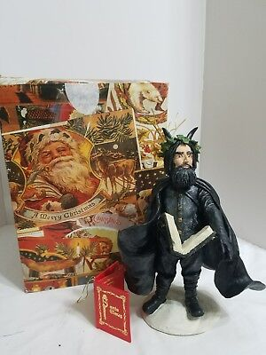 Duncan Royale Santa Claus Black Peter Figurine MIB 1983 Collectors Edition #1875