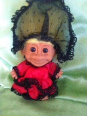 Russ Troll Doll Spanish Spain Around The World series collectable & original