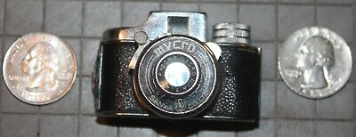 Mycro subminiature 16mm Camera, Vintage with original leather case.