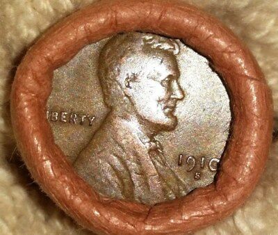 Obw Roll Federal Reserve Bank Cleveland Lincoln Head 1909 & 1910 S Ends Bin1881