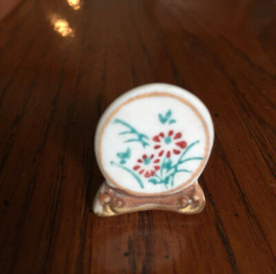 Ideal Petite Princess Miniature Ceramic Plate Accessory