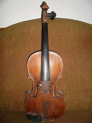 Vintage Januarius Gagliano Full Size Violin Dated 1730 for Restoration