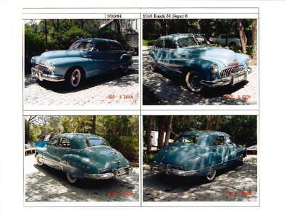 1948 Buick Super  1948 Buick Super 8 - Needs Good Owner