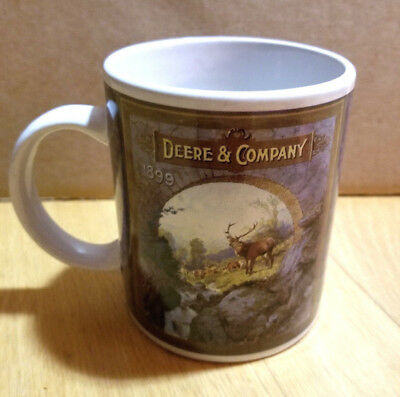 "New (W/Small Blemishes) John Deere Mug - Says ""Deere and Company 1899"""