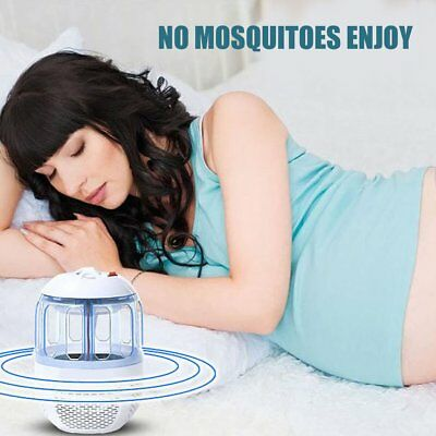 USB Electric Mosquito Killer Trap Insect Zappers 6LED Lamp Fly Bug Trap Lamp SE