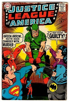 Justice League Of America # 69 Feb. 1969 Vg+ Condition