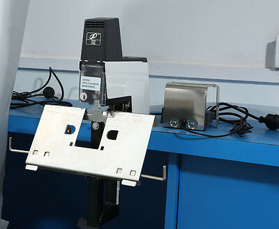 Professional Flat and Saddle Electric Stapler Auto Rapid Binder Machine Sheets