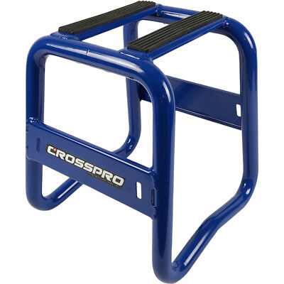 CrossPro NEW Mx Aluminium Motocross Dirt Bike Grand Prix Blue Motorcycle Stand
