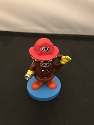 A&W Root Beer Firegfighter Action Figure 2004