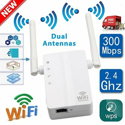 300Mbps Wifi Wireless Repeater Signal Amplifier Router Extender Booster LOT GT