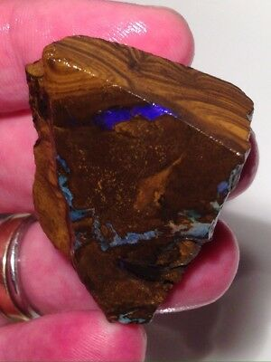 Stunning Quality 144.50Ct Queensland Boulder Opal Rough/ Specimen/ Lapidary