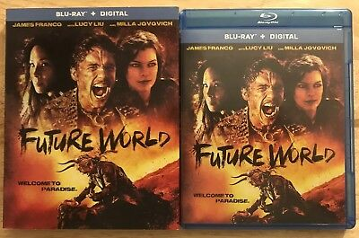 Future World Blu Ray With Slipcover Free Shipping James Franco Lucy Liu