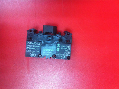 Fst  3SB3400-1A 3SB34001A 1PC NEW Siemens button with light base