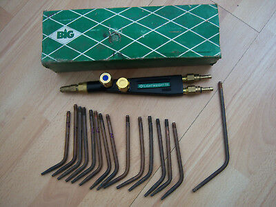 BIG welding torch with 14 nozzles ideal hobby craft