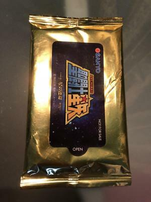 RARE SAINT SEIYA Legend of Sanctuary PROMOTION tissues GOLD MADE IN JAPAN