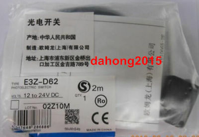 Fst New in box OMRON Photoelectric Switch E3Z-D62 E3ZD62