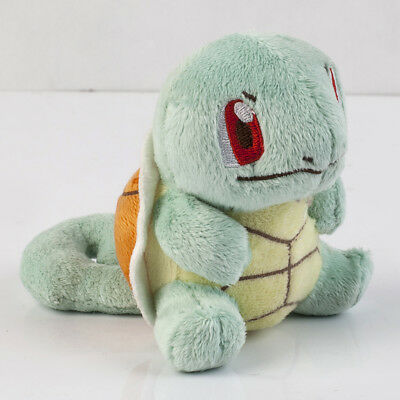 "Pokemon Collectible Plush Toy Squirtle Plush Doll 4"" Gift"