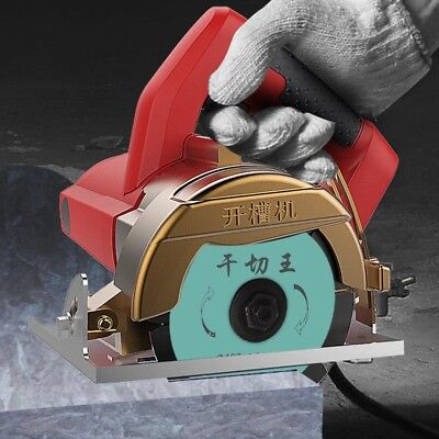220V Multi-function Household Cutting Machine for Tile Wood Marble Plastic 1240W