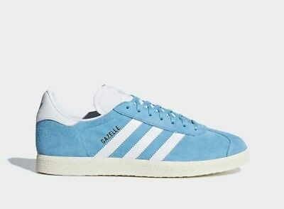 Adidas Originals Gazelle Suede Leather Mens Trainers Sneakers Shoes - Turquoise