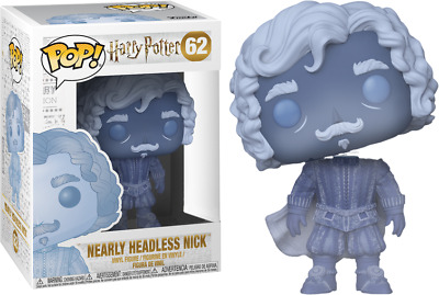 Funko Pop! Harry Potter #62 Nearly Headless Nick + Protection Ultimate Guard