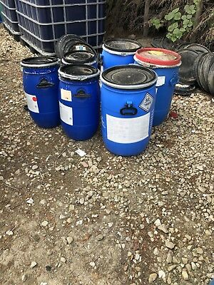 30 And 60 Litre Plastic Drums