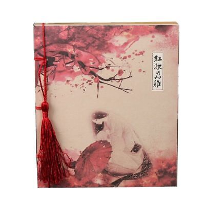 China Retro Notebook Journal Diary Sketchbook Blank Pages Notepad