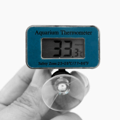 Electric LCD Digital Waterproof Fish Tank Aquarium Meter Temperature Thermometer