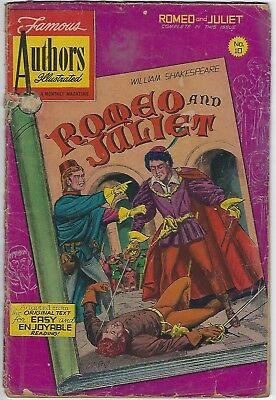 Early Graphic comic of Romeo & Juliet