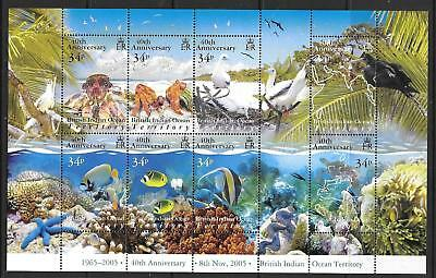 BRITISH INDIAN OCEAN TERR SGMS347 2006 40th ANNIV OF BRITISH INDIAN OCCEAN MNH