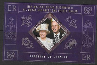 British Indian Ocean Terr Sgms458 2011 Lifetime Of Service Mnh