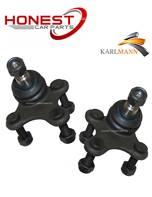 For VW SCIROCCO 2008> FRONT LOWER SUSPENSION WISHBONE ARM BALLJOINTS X2