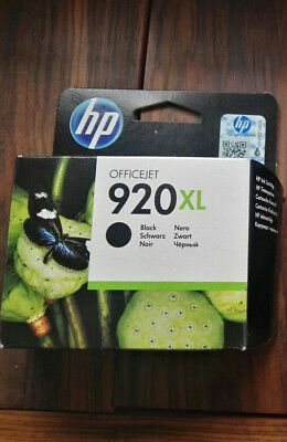 1 Druckerpatrone HP 920 XL BLACK ORIGINAL