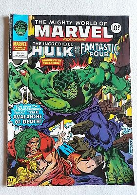 FN 1978 No. 325 MIGHTY WORLD OF MARVEL starring THE HULK