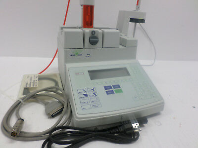 Mettler Toledo +/-27.6pH Scale +/-2050mV DL50 Graphix Titrator w/ Cables DL50