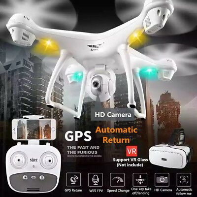 2.4GHz S70W GPS FPV Drone Quadcopter with 1080P HD Camera Wifi Headless Mode