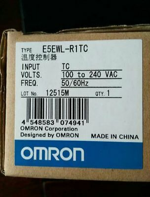 Fst  E5EWL-R1TC  1PC New Omron Temperature Controller 100-240V free shipping