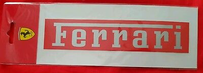 Ferrari stickers