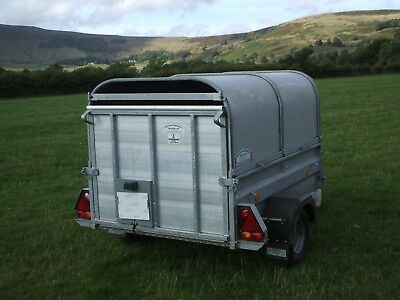 Graham Edwards Livestock Trailer 6' x 4' Excellent condition NO VAT