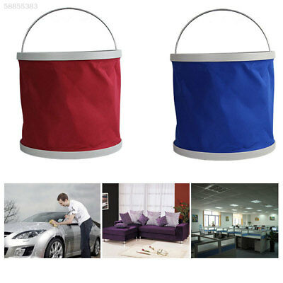0D0E Outdoor Fishing Camping Foldable Folding Collapsible Bucket Cars Barrel