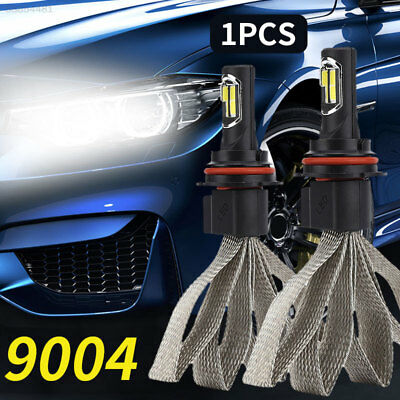 5C74 Front Lamp 9004/HB1 8000LM Super Bright Replacement LED Fog Light 72W