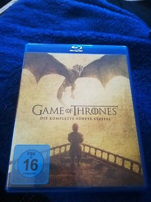 GAME OF THRONES - STAFFEL 5 - BLU RAY *NEUWERTIG* SEASON 5 - 4 Discs *KULT*