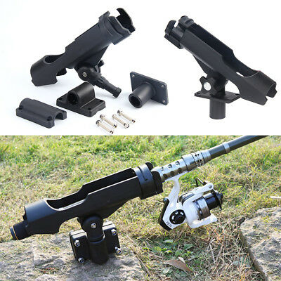 AU STOCK Adjustable Boat Fishing Rod Holders Rests With Combo Mount