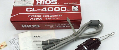 1PC HIOS Electric Screwdriver CL-6500 CL6500 New in box