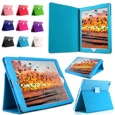 "New Leather Flip Folio Stand Case Cover For Apple 6th Generation iPad 9.7"" 2018"